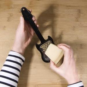 Rallador queso guitarra