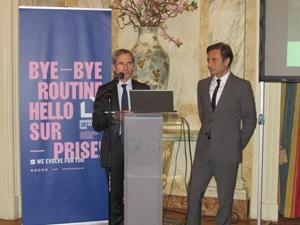 Discurso Sr. Embajador de Francia en presencia de Philippe Brocart