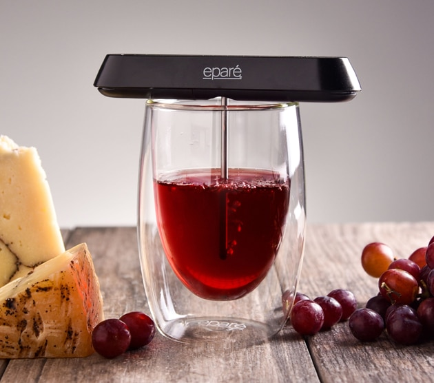 pocket wine aereator