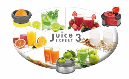 MAGIMIX OVALE Juice Expert 3