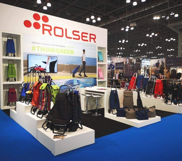NY Now premia a Rolser