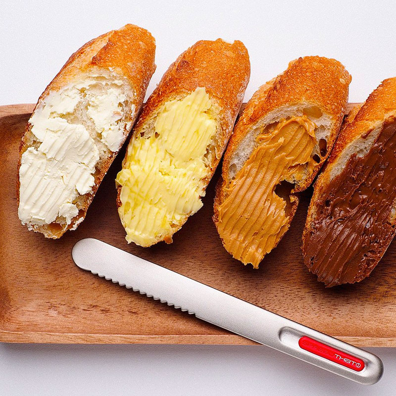 cuchillo termico mantequilla