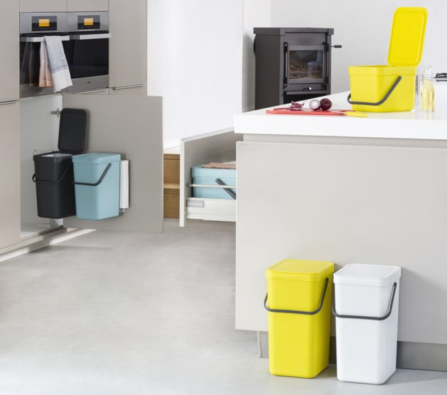 Sort&Go-Waste-Bins-Green-Grey-White-Mint