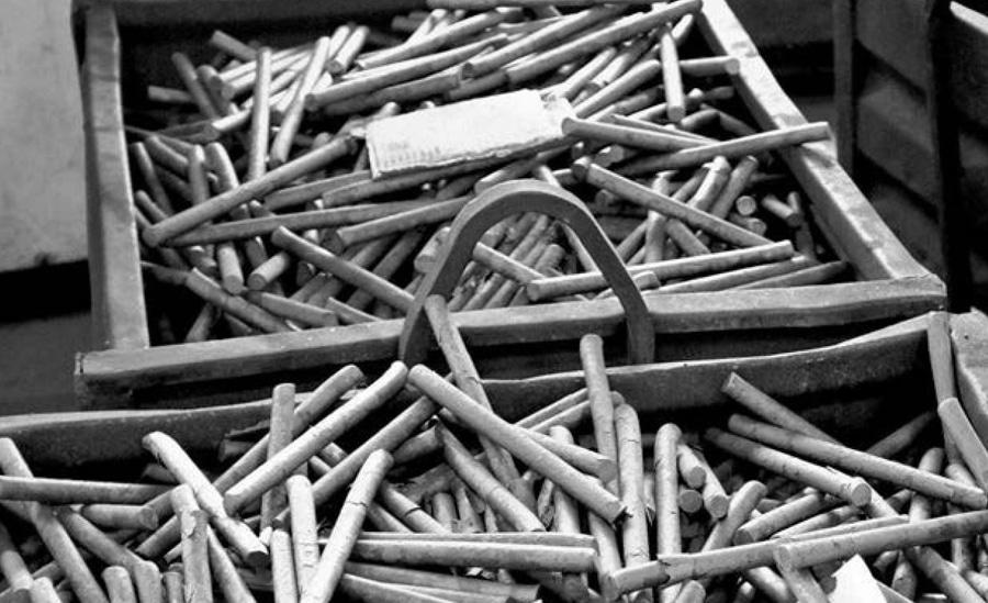 barras de acero para hacer cuchillos
