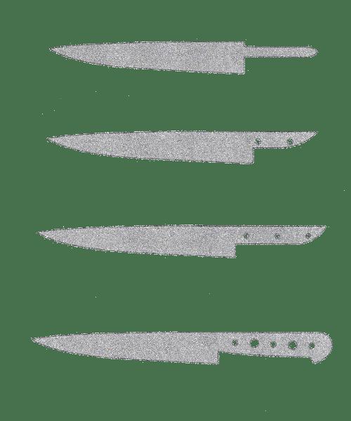 espigas tipologias cuchillos