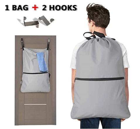 bolsa-luxja-nylon-muy ligera-ideal para ir a lavandería