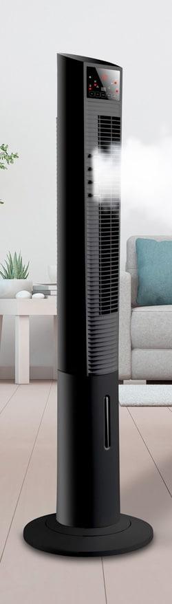 taurus ventilador vertical torre con humidificador