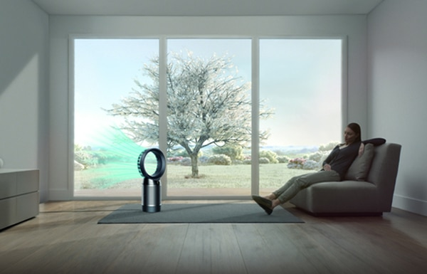 Dyson cool funnel/diffused airflow