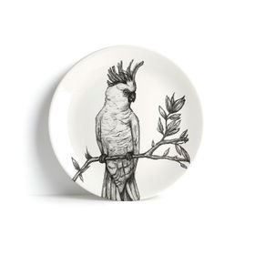 The-BirdLife-Collection_-Yellow---crested-Cockatoo-----Plate